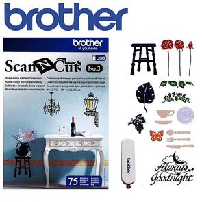 Brother  Home-Deco Pattern Collection