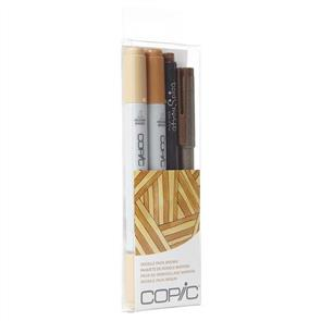 Copic Ciao Markers - Doodle Pack Brown