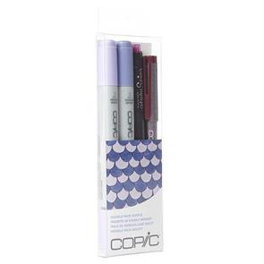 Copic Ciao Markers - Doodle Pack Purple