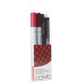 Copic Ciao Markers - Doodle Pack Red