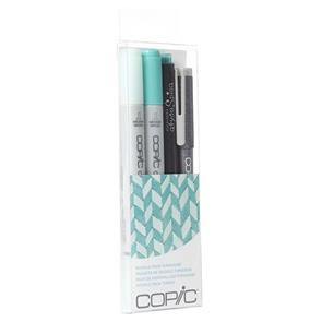 Copic  Ciao Markers - Doodle Pack Turquoise