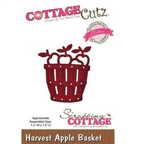 Cottage Cutz Die - Harvest Apple Basket