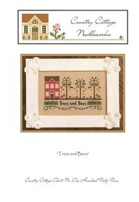 Country Cottage Needleworks  Trees and Bees
