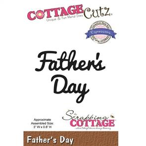 Cottage Cutz Die - Father's Day