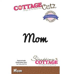 Cottage Cutz Die - Mom
