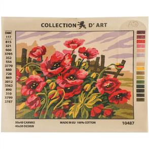 Collection D'Art  Needlepoint Printed Tapestry Canvas 40X50cm