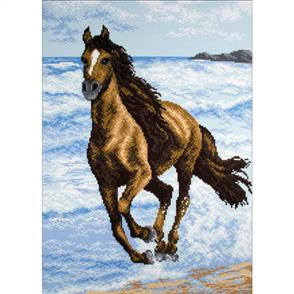 Collection D'Art  Printed Cross Stitch - Stallion