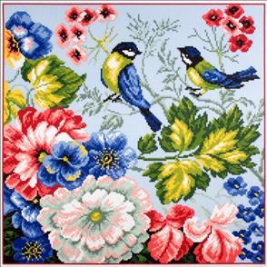 Collection D'Art  Printed Cross Stitch - Birds