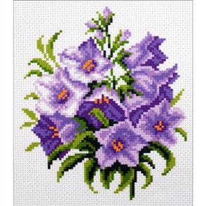 Collection D'Art  Printed Cross Stitch - Bluebells