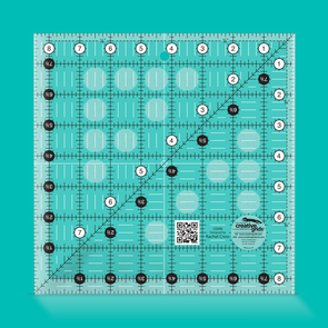 Creative Grids Quilt Ruler 8-1/2in Square
