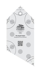 Creative Grids  Angle Finder Quilt Ruler and Binding Tool