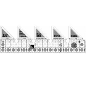 Creative Grids 45° Single Strip Ruler