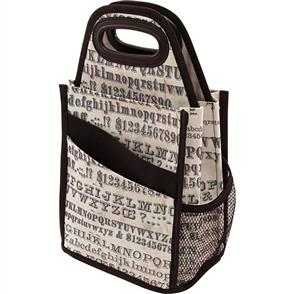 Storage Studios  Tim Holtz - Typography Spinning Craft Tote