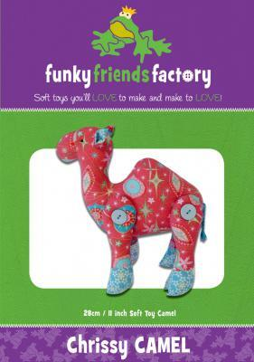 Funky Friends Factory Chrissy Camel Toy Sewing Pattern