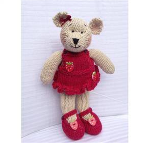 Cameron-James Designs  Berry Bear Knitting Pattern