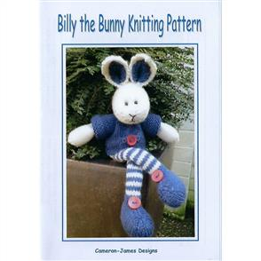 Cameron-James Designs  Billy the Bunny Knitting Pattern