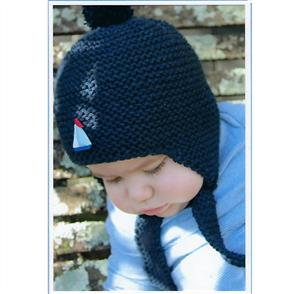 Cameron-James Designs  Baby's Earflap Hat