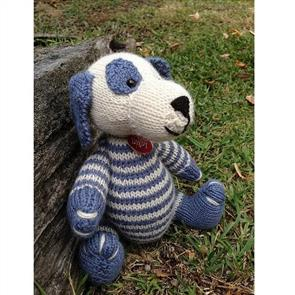 Cameron-James Designs  Digby the Dog Knitting Pattern