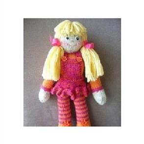 Cameron-James Designs  Little Missy Doll Knitting Doll