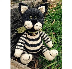 Cameron-James Designs  Oreo the Cat Knitting Pattern