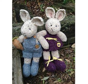 Cameron-James Designs  Peter and Pansy Rabbit Knitting Pattern