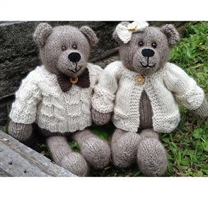 Cameron-James Designs  Winston and Clementine Bear Knitting Pattern