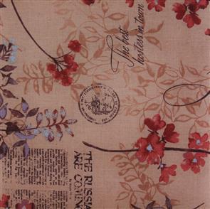 Handworks Fabric  Junko Matsuda - Calm Dark Peach