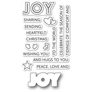 Poppystamps  Tidings of Joy Clear Stamp Set