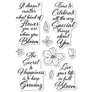 Poppystamps Stamp: Blooming Greetings