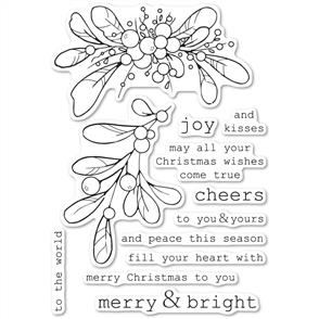 Memory Box - Merry and Bright Misltetoe