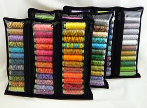 Sue Spargo Thread Storage - Clear Zipper Pouch