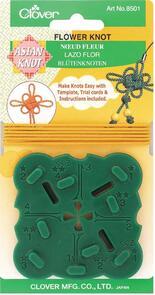 Clover  Asian Knot Template - Flower Knot
