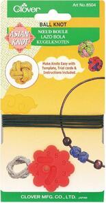 Clover Asian Knot - Ball Knot Template