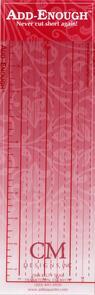 CM Designs Add-Enough Ruler 4in x 10in