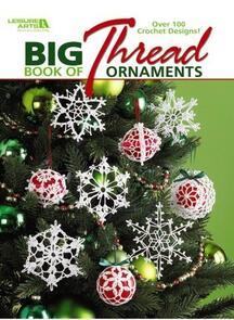 Leisure Arts  Big Book Of Thread Ornaments