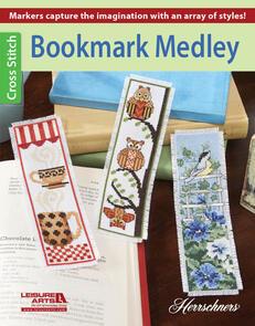 Leisure Arts  Bookmark Medley