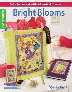 Leisure Arts  Bright Blooms