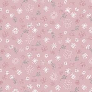 Trendy Trims - Fabric - Contempo Baby Buddies - 10284-01 - Pink