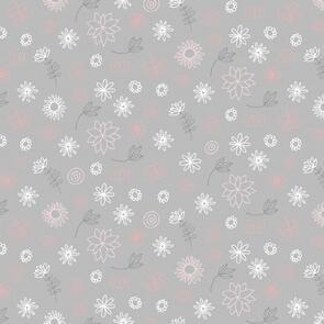 Trendy Trims - Fabric - Contempo Baby Buddies - 10284.08 - Grey