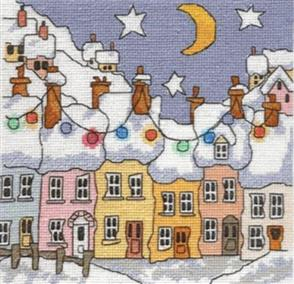 Michael Powell  Counted Cross Stitch Chart Pack: Street