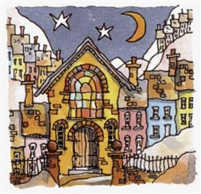 Michael Powell  Cross Stitch Chart Pack: Chapel