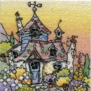 Michael Powell  Cross Stitch Chart Pack: Honeysuckle Cottage