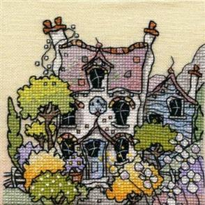 Michael Powell  Cross Stitch Chart Pack: Lavender Cottage