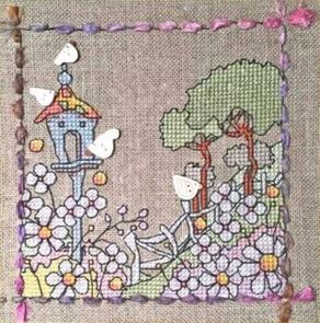 Michael Powell Field of Doves - Counted Cross Stitch Chart Pack