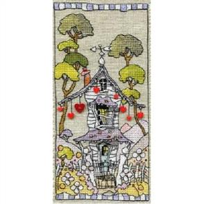 Michael Powell  Cross Stitch Chart Pack: House of Hearts