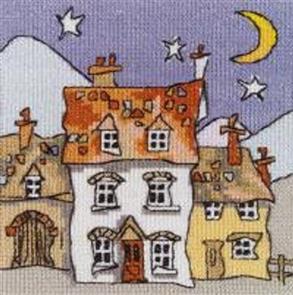 Michael Powell  Cross Stitch Chart Pack: Mini Cottages 1