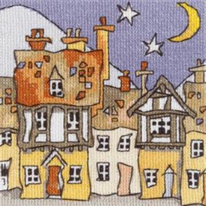 Michael Powell  Cross Stitch Chart Pack: Mini Cottages 2