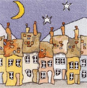 Michael Powell  Cross Stitch Chart Pack: Mini Cottages 3
