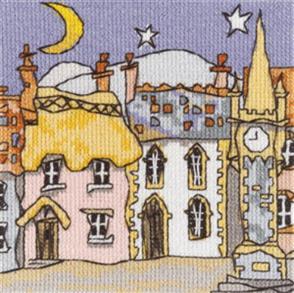 Michael Powell  Cross Stitch Chart Pack: Mini Cottages 4