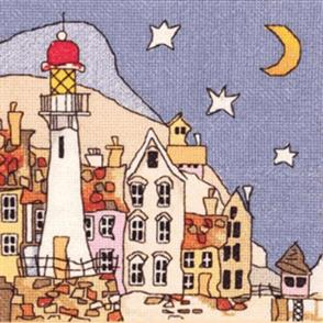 Michael Powell  Counted Cross Stitch Chart Pack: Lighthouse